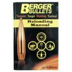 RELOADING MANUAL 1st EDITION (Berger Reloading Manual)